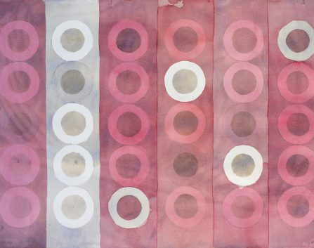 Redcliffe Quilt, 2016, wc on Arches, 56 cm x 75 cm