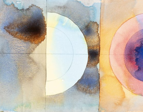 Kedron Brook 2, portion 17, 2020, watercolour on Arches.